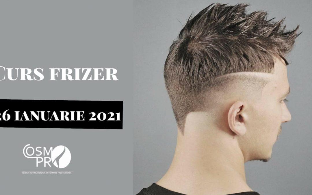 26 ianuarie 2021 – Curs Frizer/Barbering acreditat