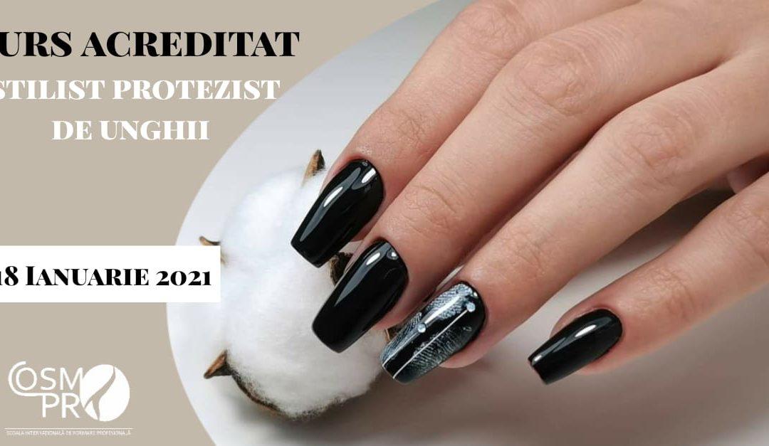 18 ianuarie 2021 – Curs Stilist Protezist de Unghii