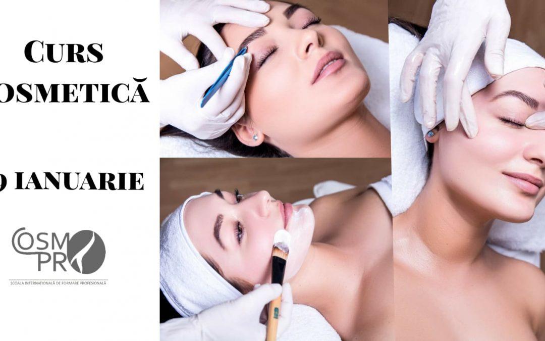 29 ianuarie 2021 – Curs Cosmetica Acreditat