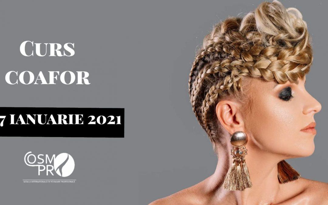 27 ianuarie 2021- Curs Coafor Acreditat